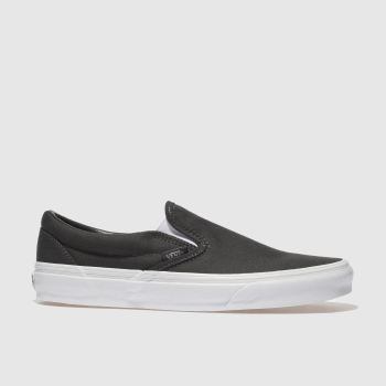 Vans Grey Classic Slip-On Mens Trainers