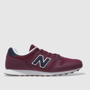 New Balance Red 373 Mens Trainers