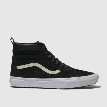 Vans Black & White Sk8-Hi Mte Mens Trainers