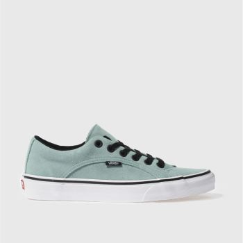 VANS MINT GREEN LAMPIN TRAINERS