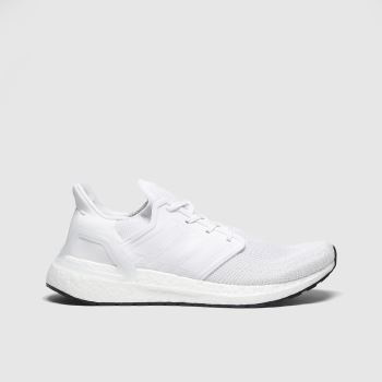 Adidas White Ultraboost 20 c2namevalue::Mens Trainers