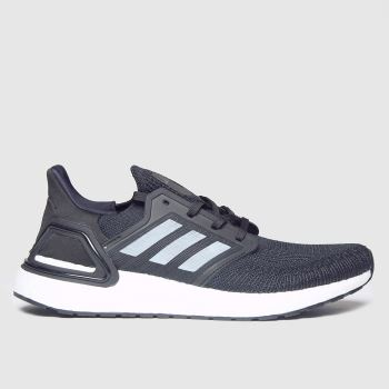 adidas Black & White Ultraboost 20 Mens Trainers