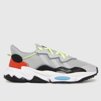 adidas Light Grey Ozweego Mens Trainers