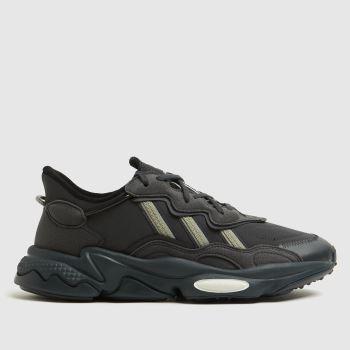 adidas Dark Grey Ozweego Mens Trainers