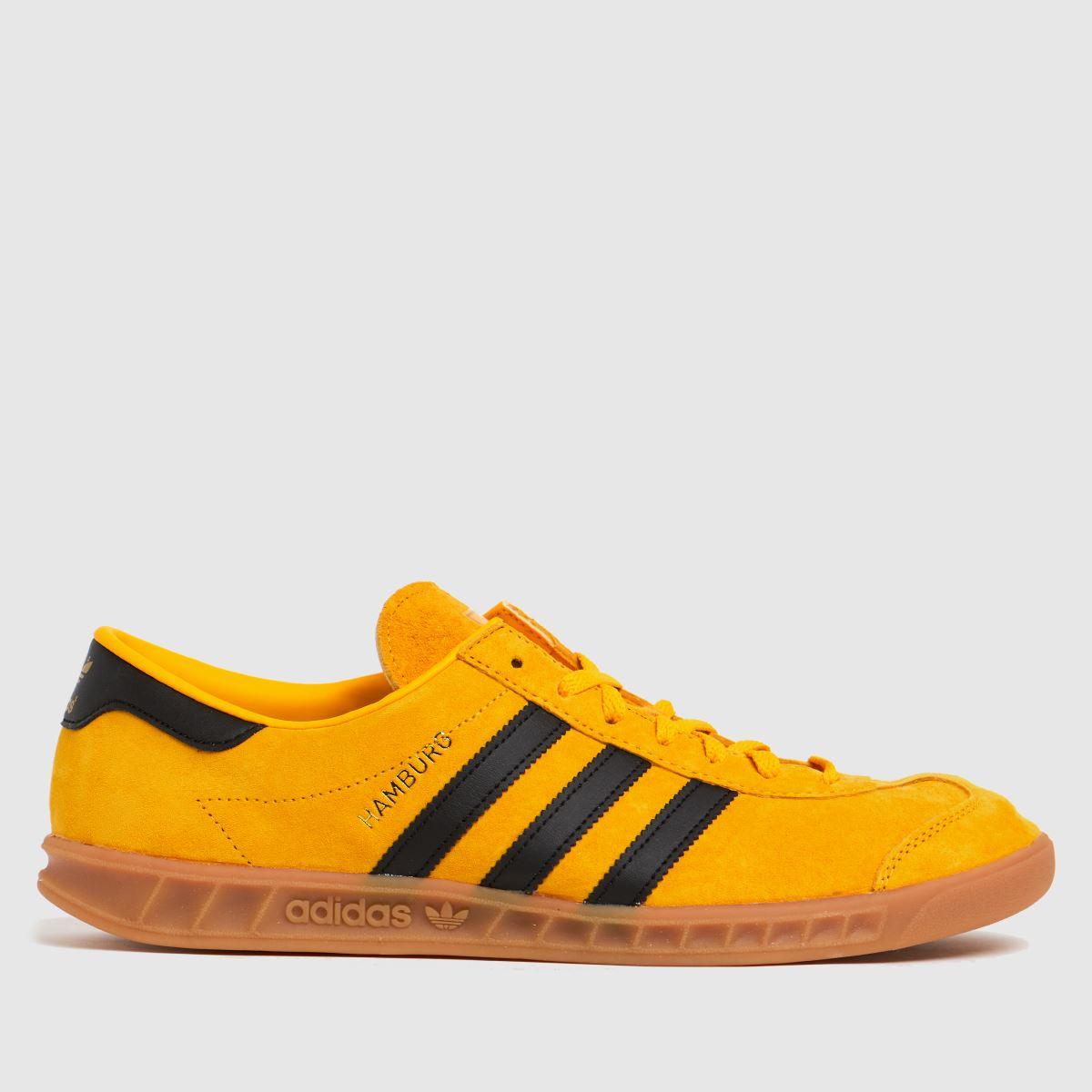 Adidas Yellow Hamburg Trainers