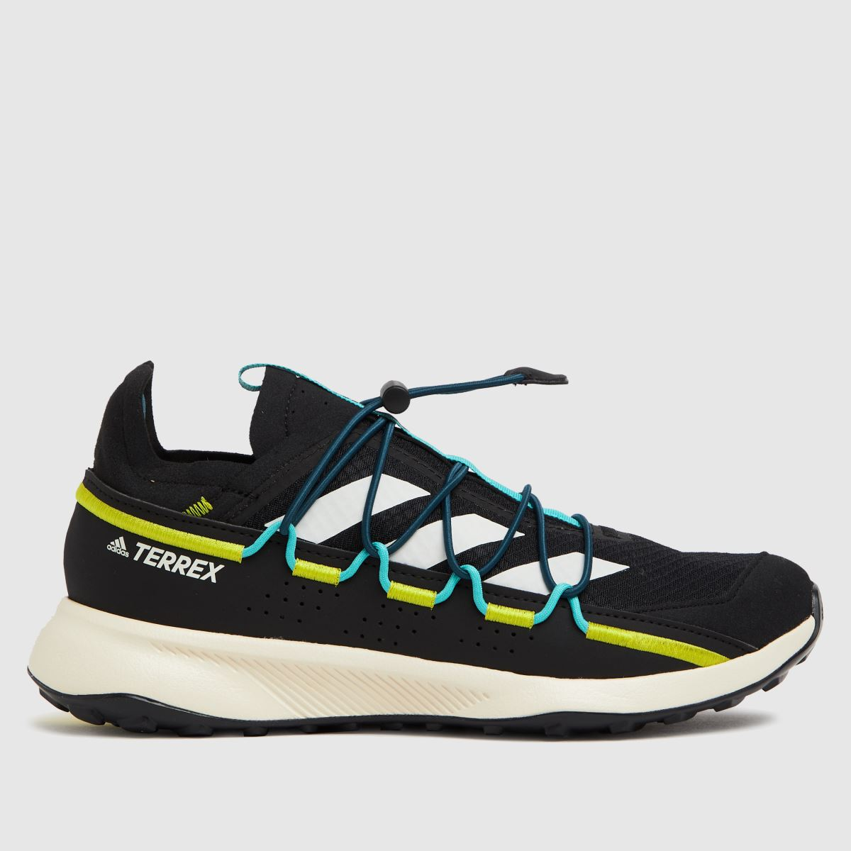 Adidas Black & Green Terrex Voyager 21 H Trainers