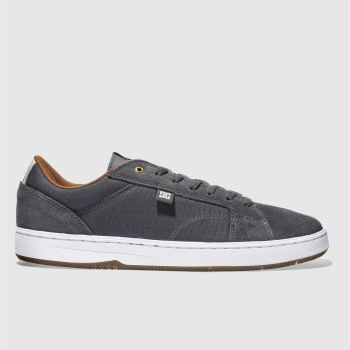 Dc Shoes Grey Astor Mens Trainers