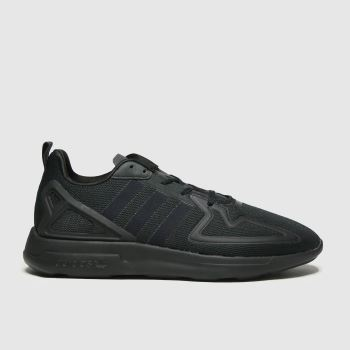 adidas Black Adi 2k Zx Flux Mens Trainers