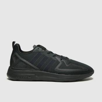 adidas Black Adi 2k Zx Flux Trainers