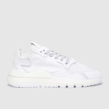 adidas White Nite Jogger Mens Trainers