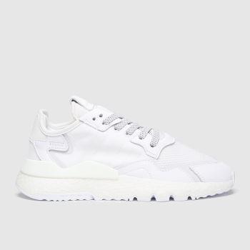 adidas Weiß Nite Jogger Herren Sneaker