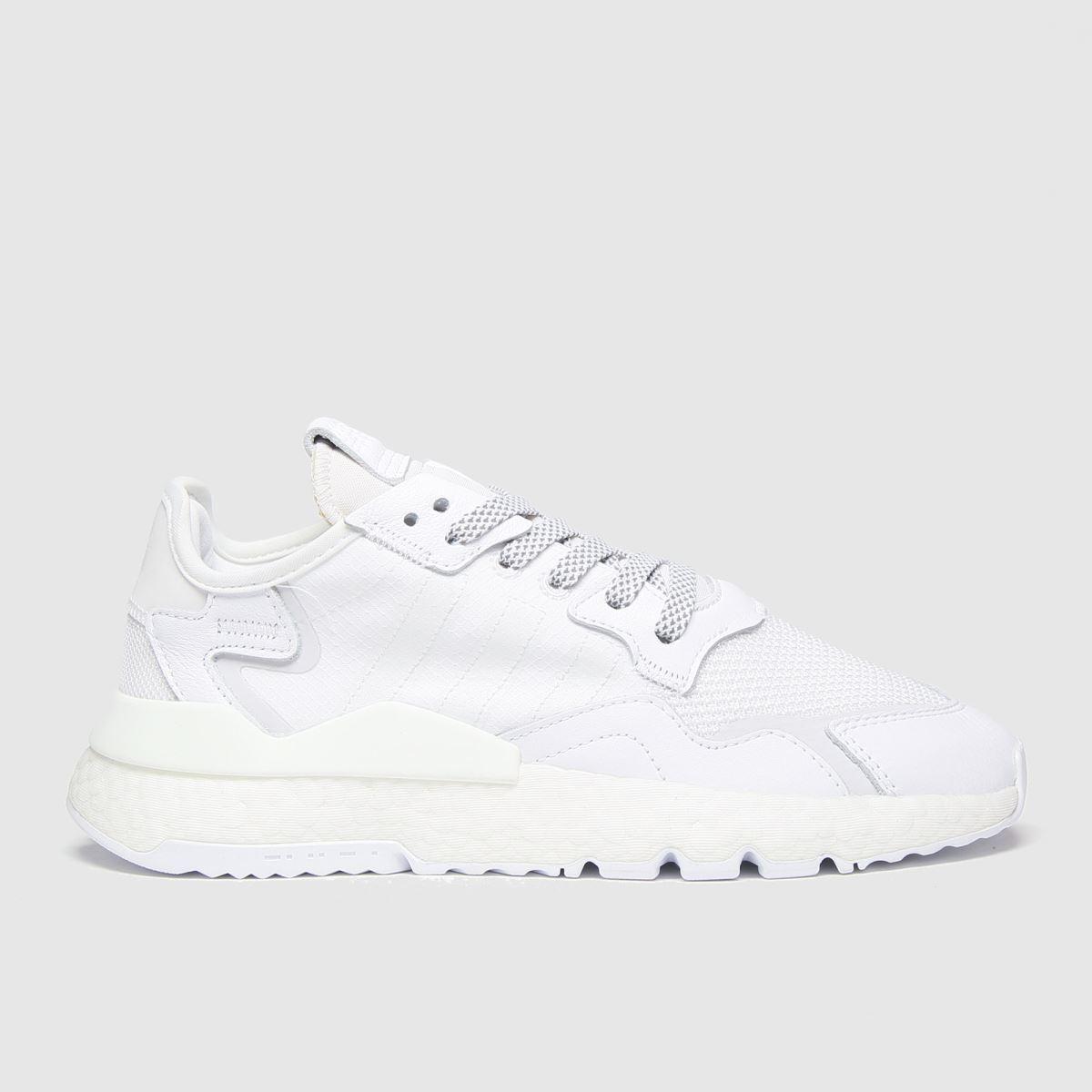 Adidas White Nite Jogger Trainers
