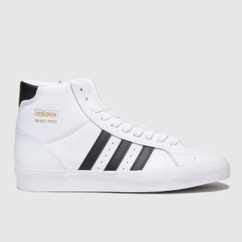 adidas White Basket Profi Mens Trainers