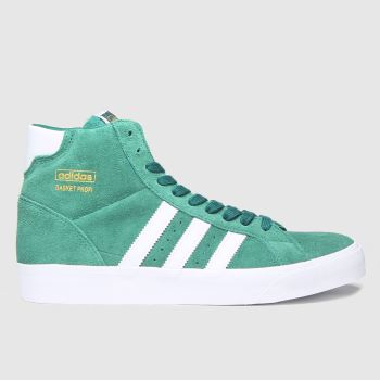 adidas Green Basket Profi Mens Trainers