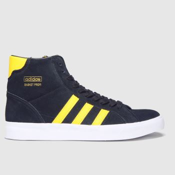Adidas Black Basket Profi c2namevalue::Mens Trainers