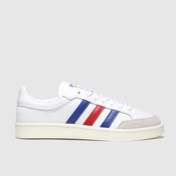 adidas White & Navy Americana Low Mens Trainers