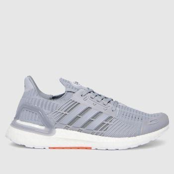 adidas Light Grey Ultraboost Mens Trainers