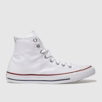 Converse White ALL STAR HI TOP Trainers