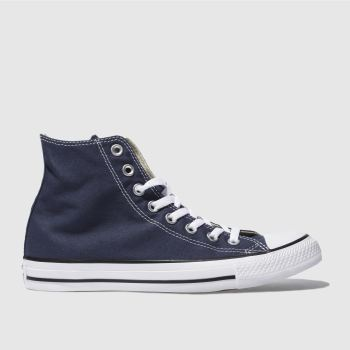 Converse Navy All Star Hi Top Mens Trainers
