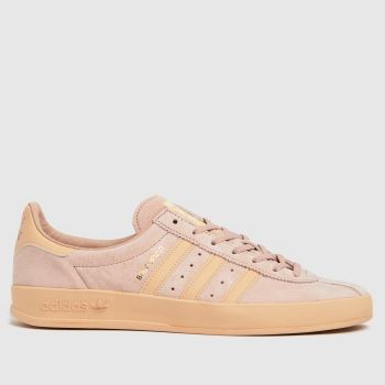 adidas Pale Pink Broomfield Mens Trainers