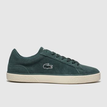 Lacoste Dark Green Lerond Mens Trainers