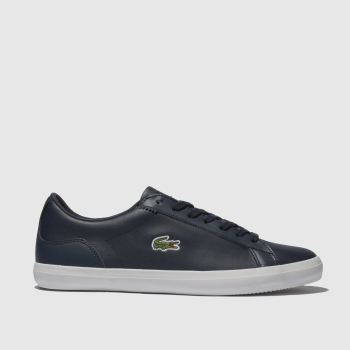 Lacoste Navy Lerond Mens Trainers