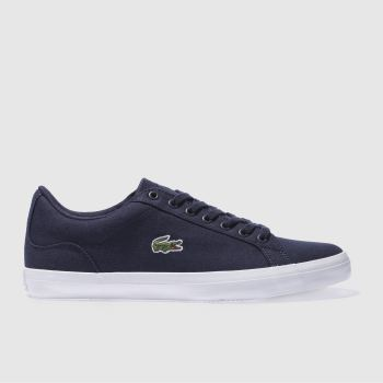 Lacoste Navy Lerond Mens Trainers#