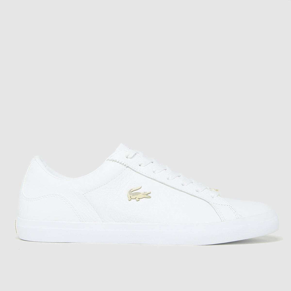 Click to view product details and reviews for Lacoste White Lerond Trainers.