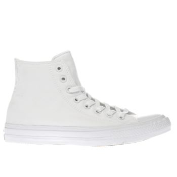 72b4334164be1d mens white converse chuck taylor all star ii hi trainers