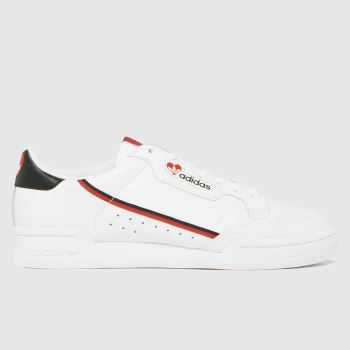 adidas White Continental 80 Mens Trainers