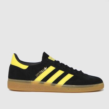 adidas Black Handball Spezial Mens Trainers