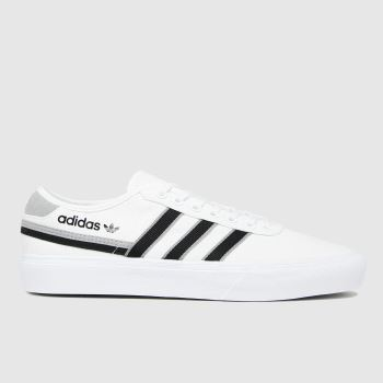 adidas White Delpala Mens Trainers