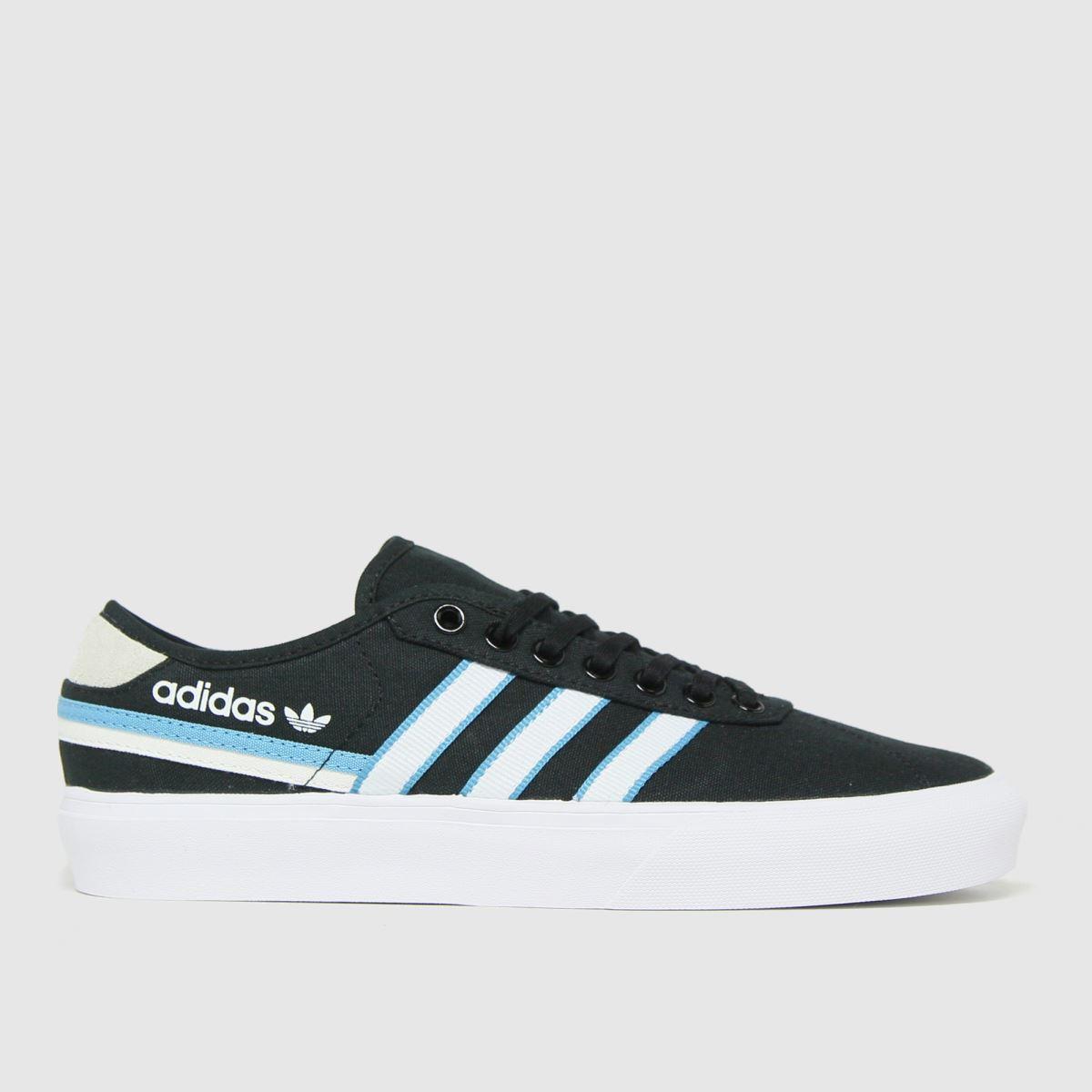 Adidas Black Delpala Trainers