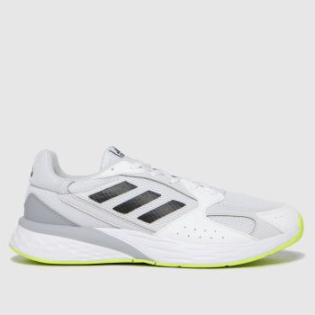 adidas White Response Run Mens Trainers