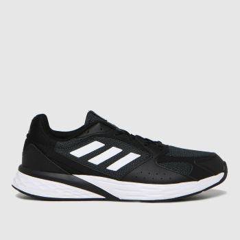 adidas Black Response Run Mens Trainers