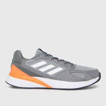 adidas Grey Response Run Mens Trainers
