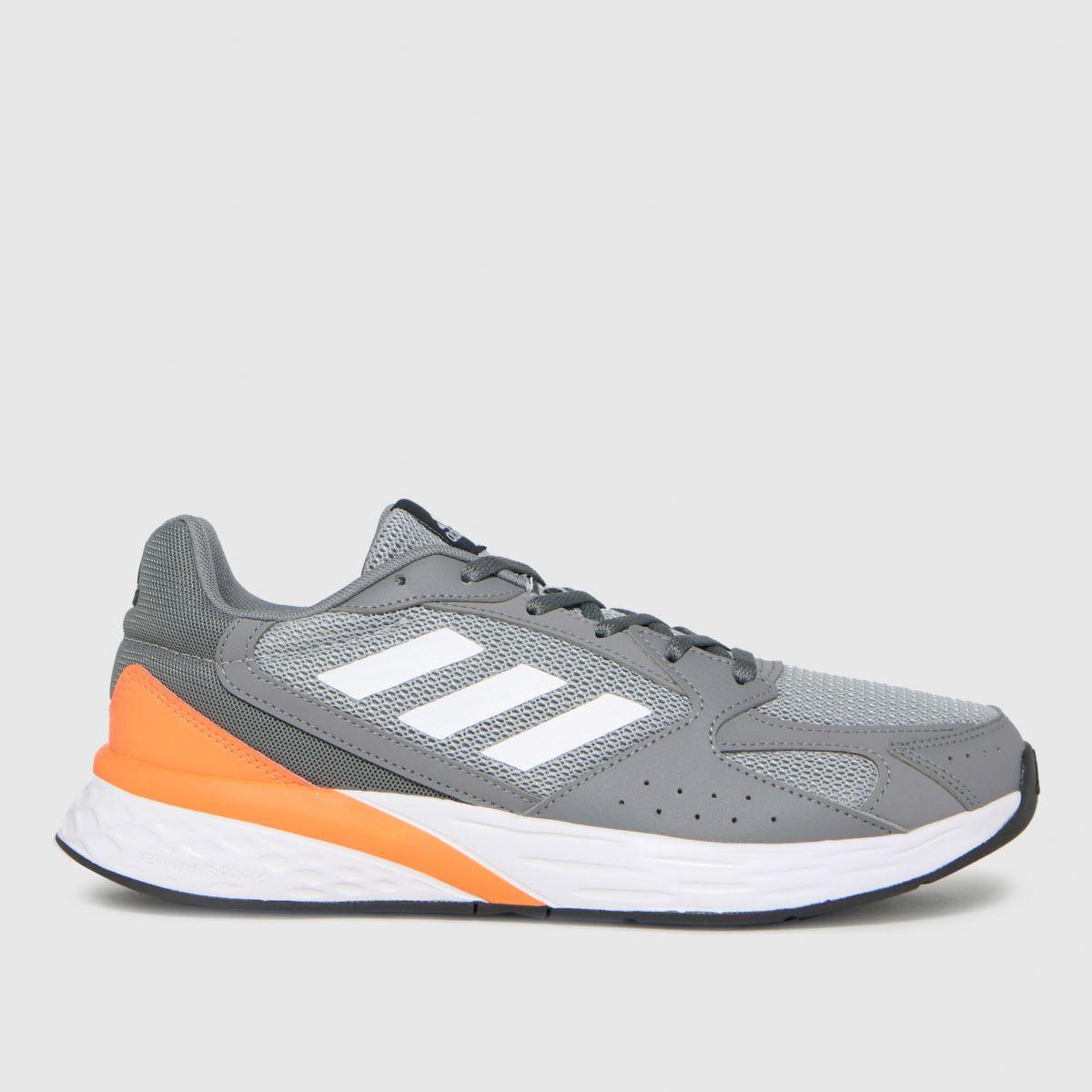 Adidas Grey Response Run Trainers