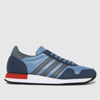 adidas Blue Usa 84 Mens Trainers