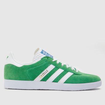 adidas Green Gazelle Mens Trainers