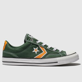 Converse Dark Green Star Player Mens Trainers