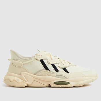 adidas White & Black Ozweego Mens Trainers