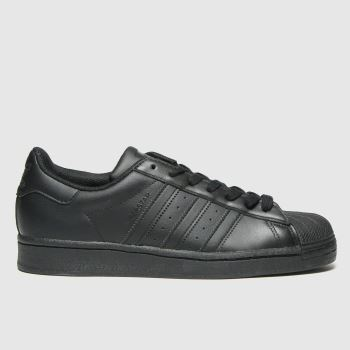 adidas Black Superstar Mens Trainers