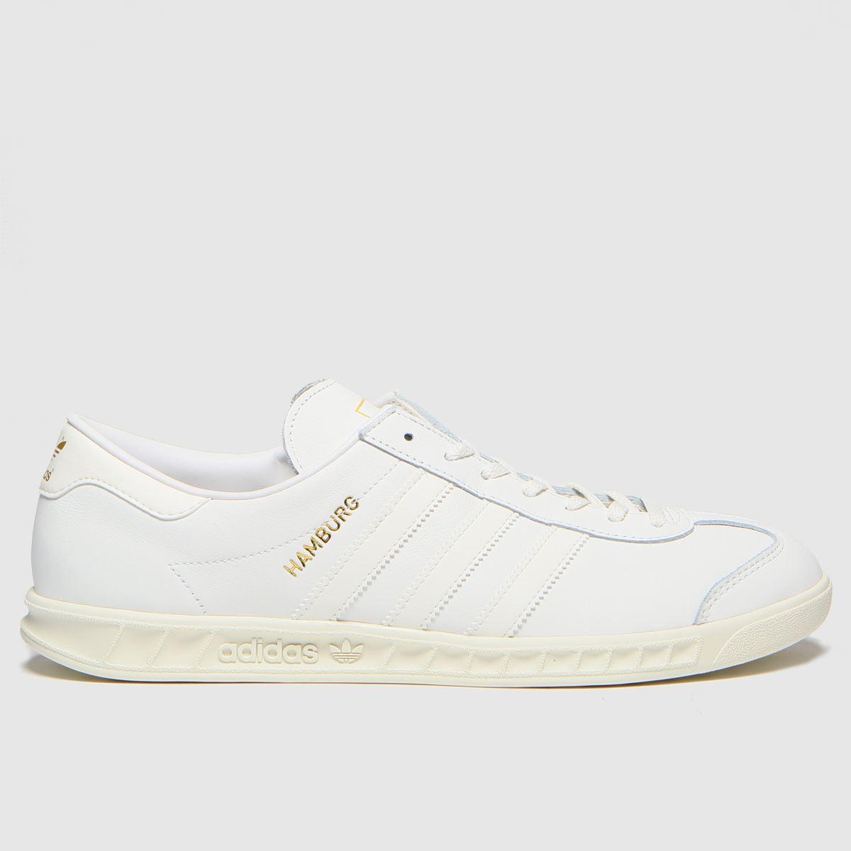 Adidas White Hamburg Trainers