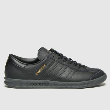 adidas Black Hamburg Mens Trainers