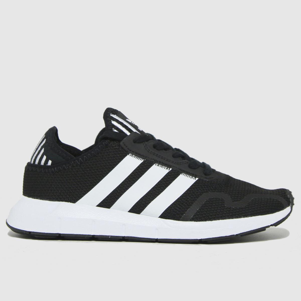 Adidas Black Adi Swift Run X Trainers