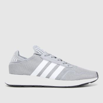 adidas Grey Swift Run X Mens Trainers