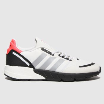 adidas White Zx 1k Boost Mens Trainers#