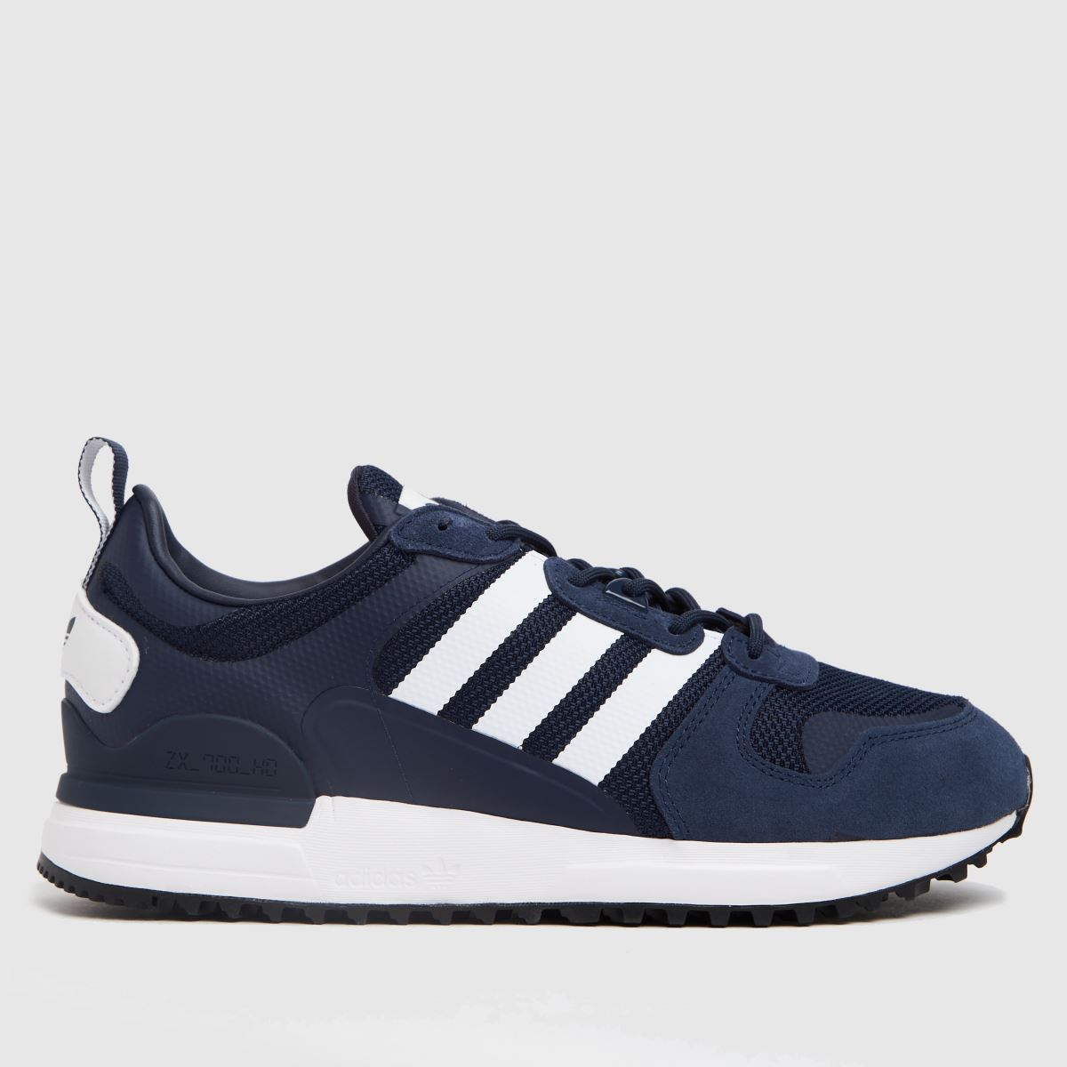 Adidas Navy & White Zx 700 Hd Trainers