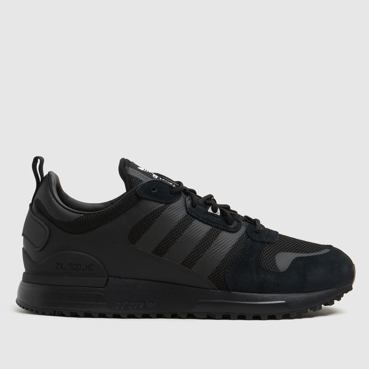 Adidas Black Zx 700 Hd Trainers