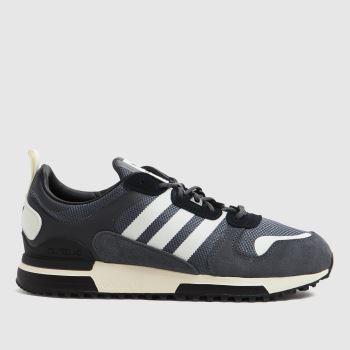 adidas Grey & Black Zx 700 Hd Mens Trainers